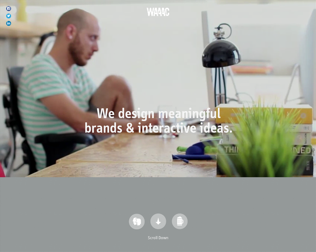WAAAC - Branding & Interactive design