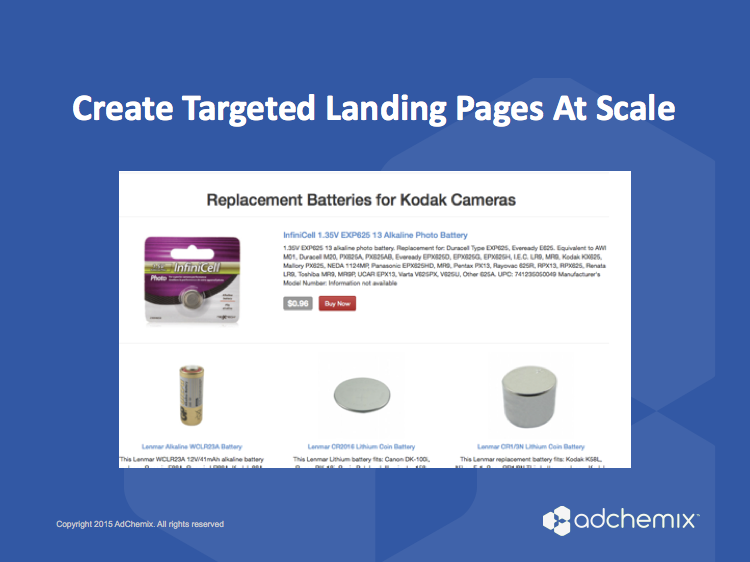 Targeted Landing Pages That Convert - PageChemix