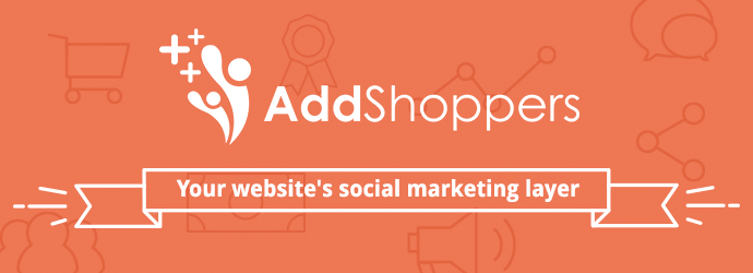 Boost conversion rate, traffic, and AOV by plugging in the AddShoppers Onsite Commerce Marketing Platform
