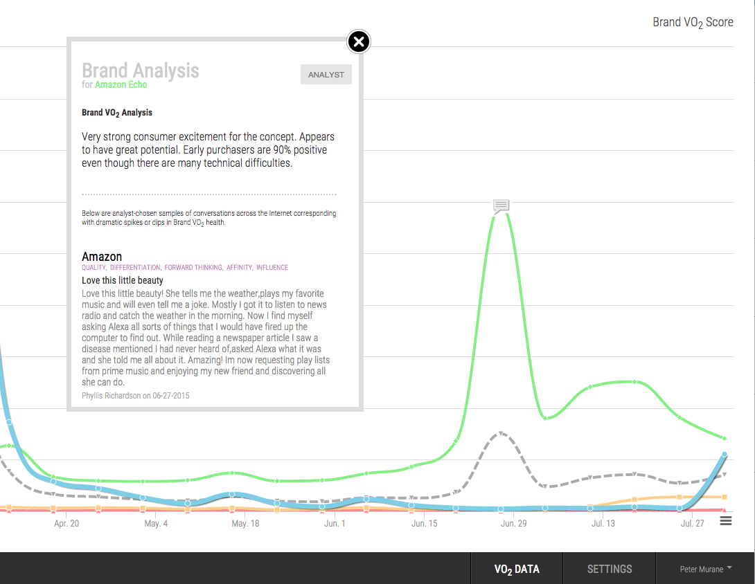 Critical Real-time Brand Insights & Analysis Based on E-Commerce and Social Data
