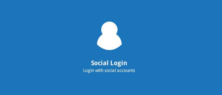 Social Login: Instant account creation and login with Facebook, Google, Twitter, Instagram, Amazon, and Paypal