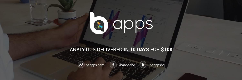 BA Apps - Analytics delivered in 10 Days for $10k