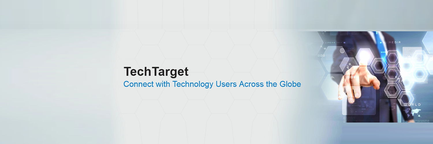 TechTarget - connect with Technology users across the Globe