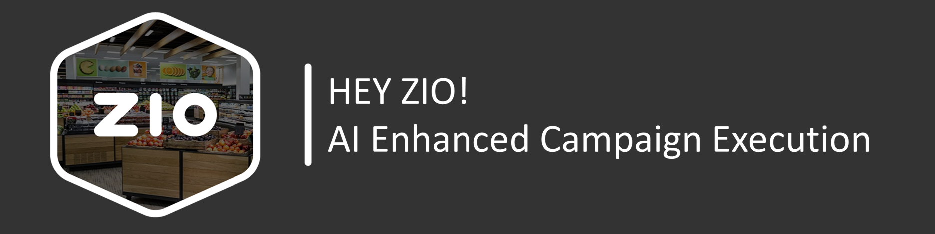 HEY ZIO - Your AI Enhanced, Big Data Driven, Virtual Marketing Assistant