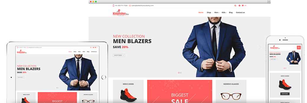 Odoo Kingfisher Pro Fashion Theme