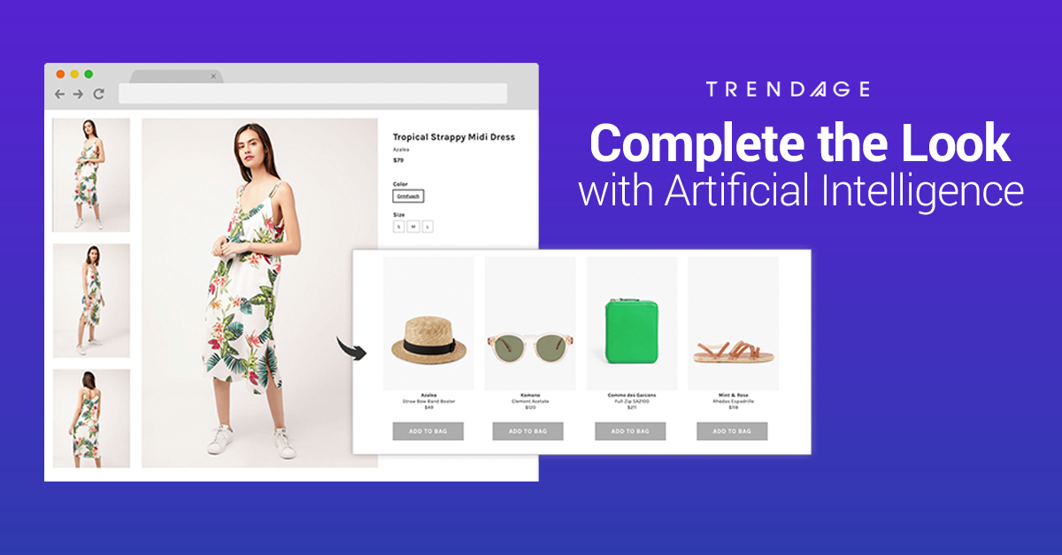 Automated Complete the Look: Increase conversions and AOV with complete outfits for your shoppers