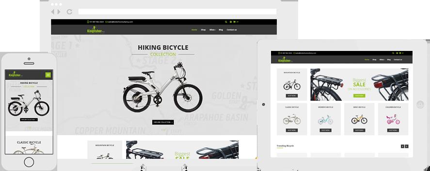 Odoo Kingfisher Pro Bicycle Theme