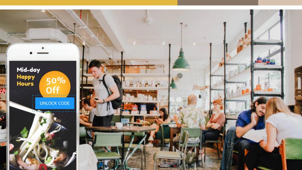 Proximity Marketing for offline businesses using beacons