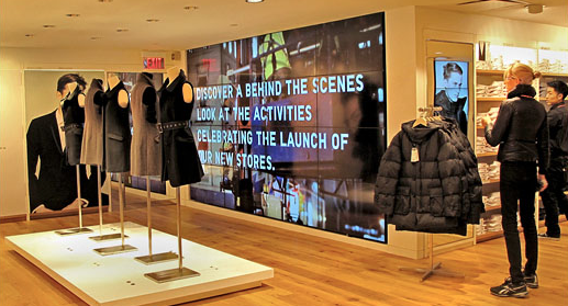 Digital Signage for In-Store Displays